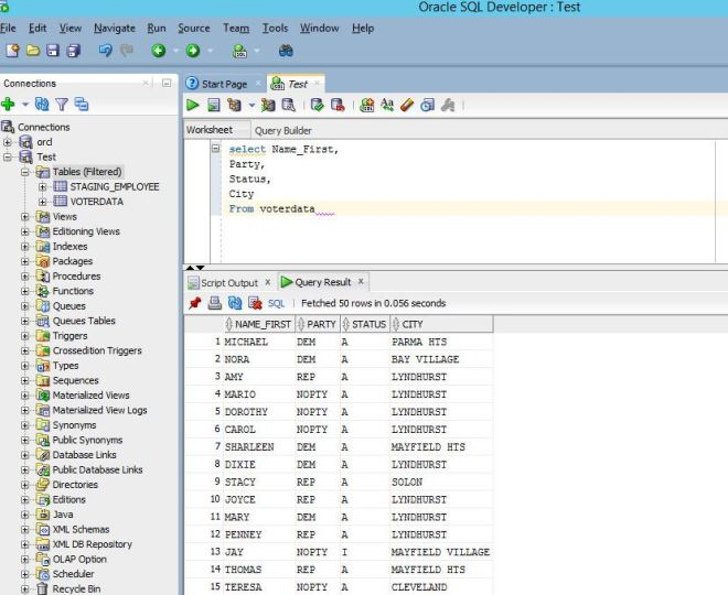 Linked Server that connects to Oracle – Jim Salasek's SQL Server Blog