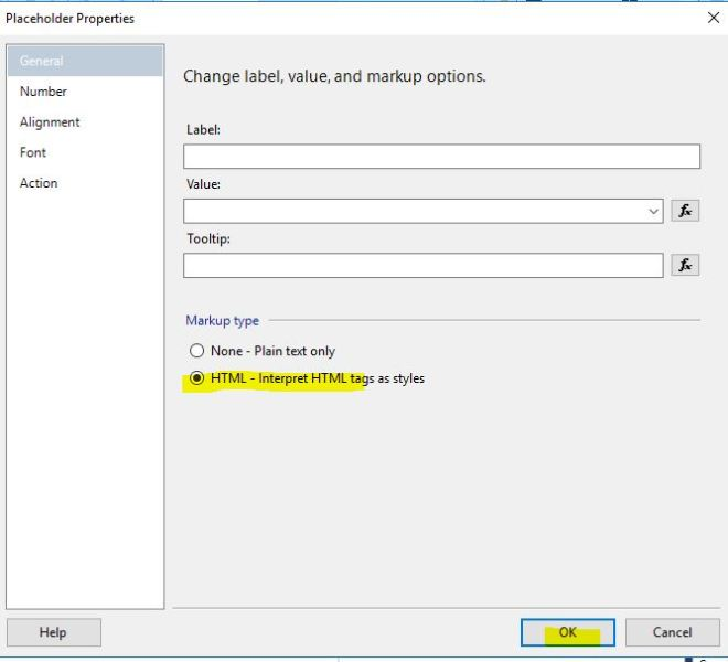 SSRS…How to bold part of an expression – Jim Salasek's SQL Server Blog